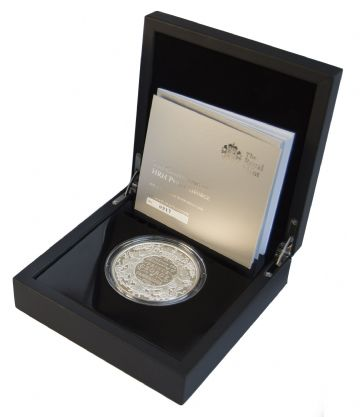 2013 Silver Proof £10 Prince George 5oz
